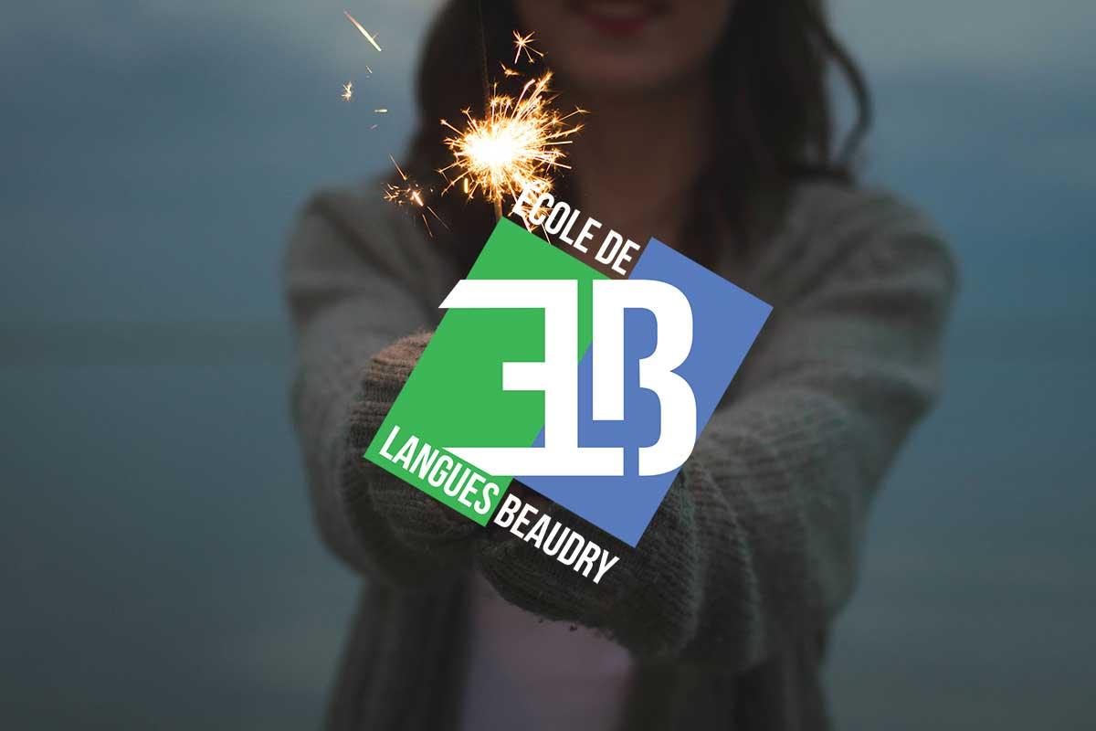 Logo pour l'École de Langues Beaudry